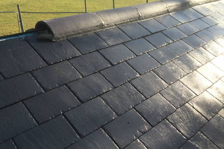 new slate roof mansfield