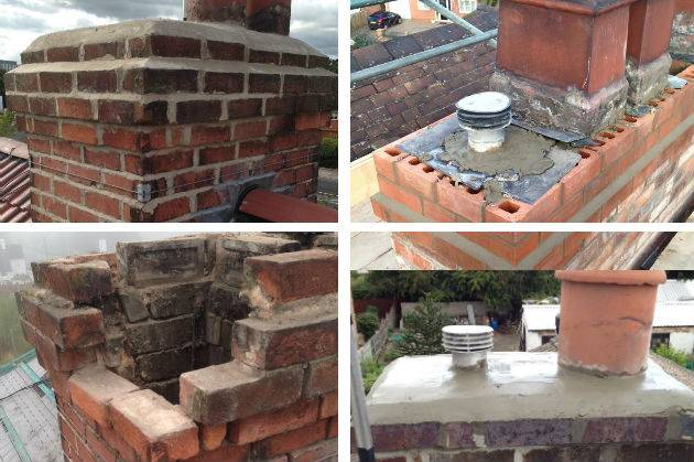 our previous chimney work